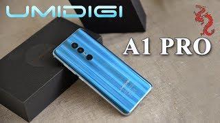UMIDIGI A1PRO //Распаковка смартфона на новом MT6739 с GPU PowerVR GE8100