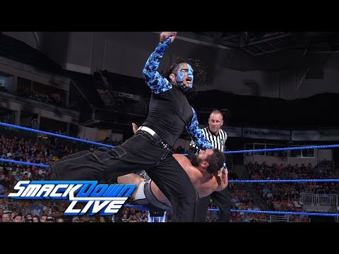 Styles & Hardy join forces to battle Rusev & Nakamura: SmackDown LIVE, July 10, 2018