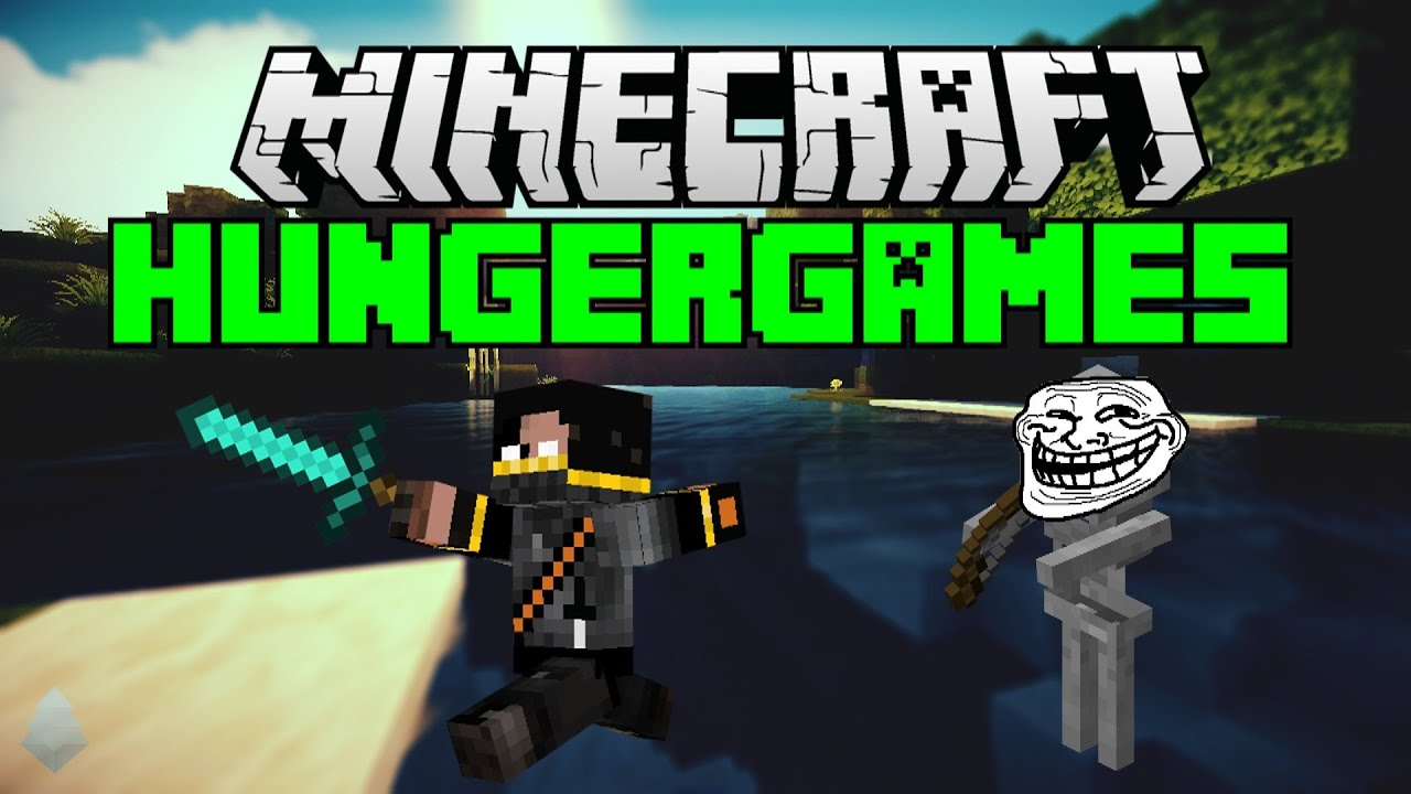 Minecraft the hungergames deel give away winnaars youtube