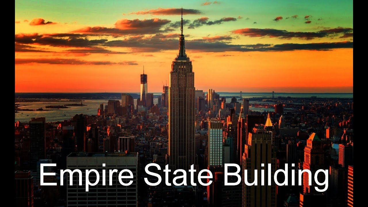 empire state building new york history and facts youtube. Black Bedroom Furniture Sets. Home Design Ideas