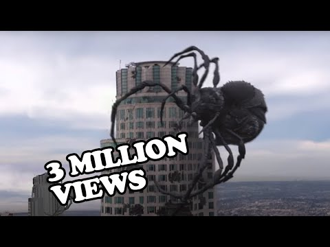 BIG ASS SPIDER - Hollywood Movie - Malik Gillani's Movie Animation Reel