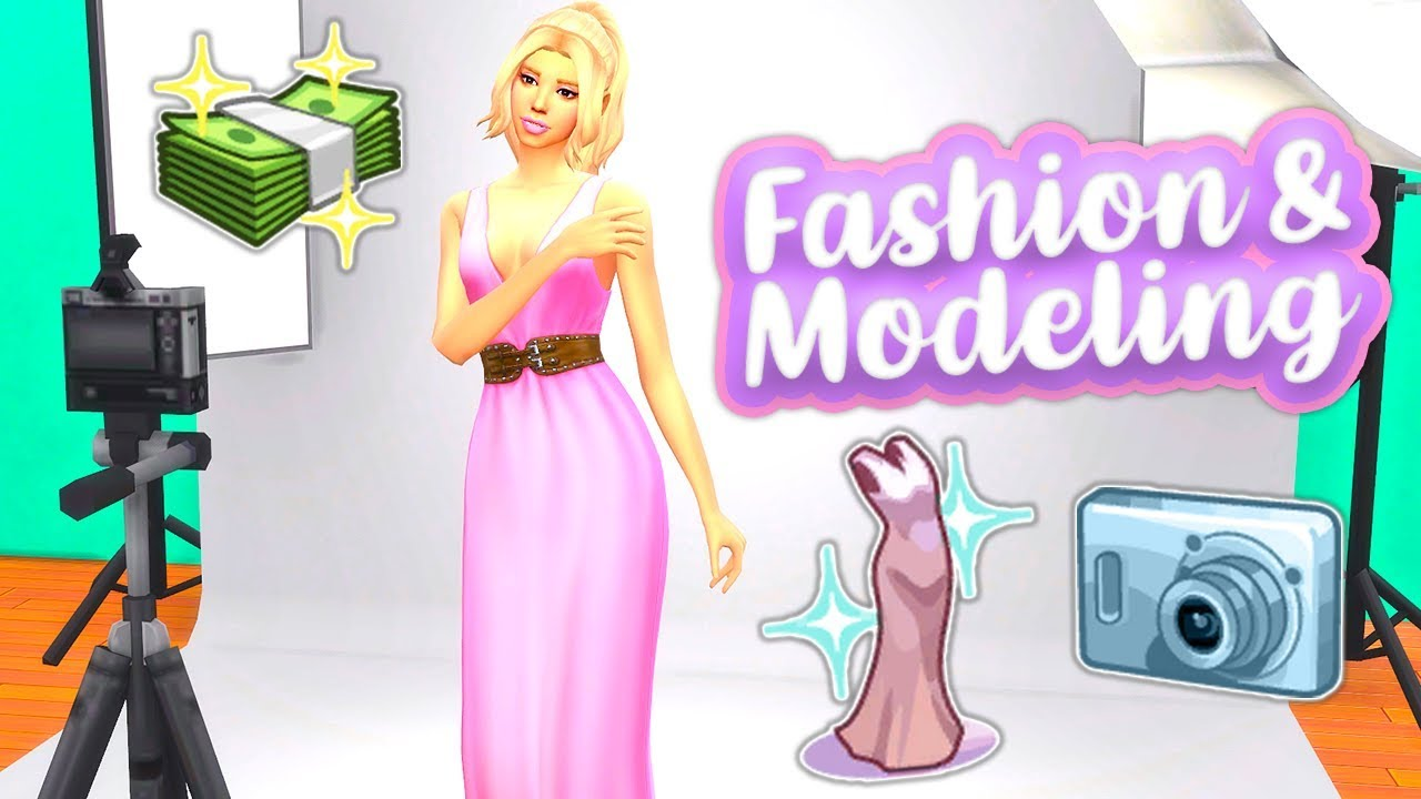 Fashion Modeling Career Mod Review The Sims 4 Youtube