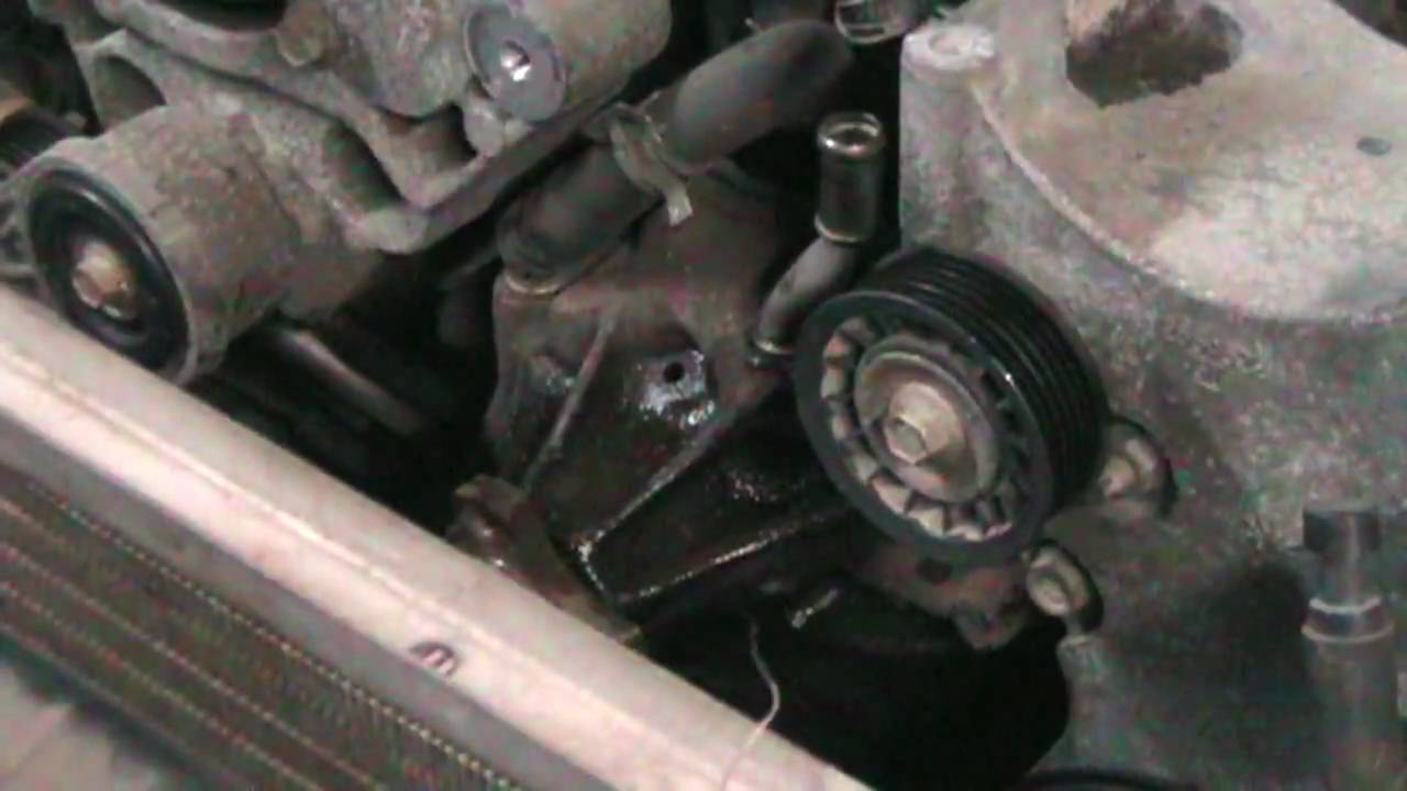 1999 Chevy S10 4x4 43L Water Pump Change  YouTube