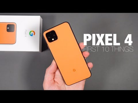 Pixel 4: First 10 Things to Do!