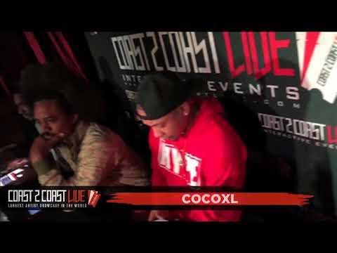 CocoXL (@Cocoxlmusic) Performs at Coast 2 Coast LIVE | Las Vegas Edition 12/6/17