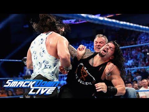 Shane McMahon & Elias attack Roman Reigns: SmackDown LIVE, April 23, 2019