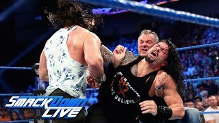 Shane McMahon & Elias attack Roman Reigns: SmackDown LIVE, April 23, 2019