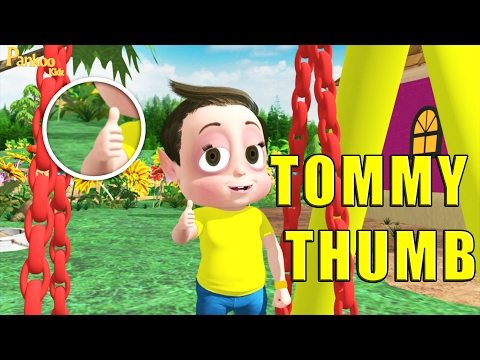 12dc1030 Tommy Thumb Is Up And Tommy Thumb - Nursery Rhyme Kids Song - Popular  Nursery Rhymes