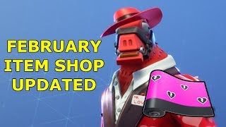 FREE WRAP AND GIFTING IS BACK!! Fortnite Item Shop February 14 Update!!
