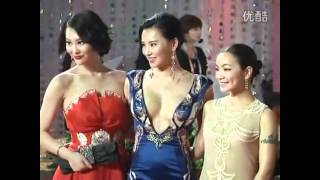 Sexiest  Celebrities in red carpet | Must have a look 中外胸器终极对决!