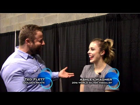 Golden Skate interview with Ashley Wagner