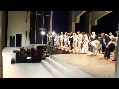 Hair! Musical at City Theatre Basel standing ovation (Applause)