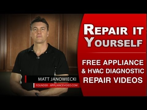 Fix it Yourself with over 5,500 Repair videos at  | ApplianceVideo.com