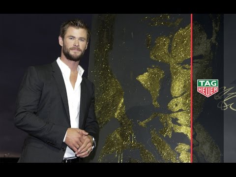TAG Heuer |  Mr Biver welcomes Chris Hemsworth as Brand Ambassador in Sydney!