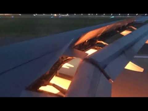 El avión de la selección de Arabia se incendió