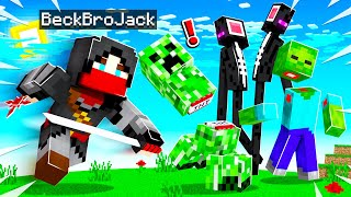 MINECRAFT But Mobs Are REALISTIC! (strange)