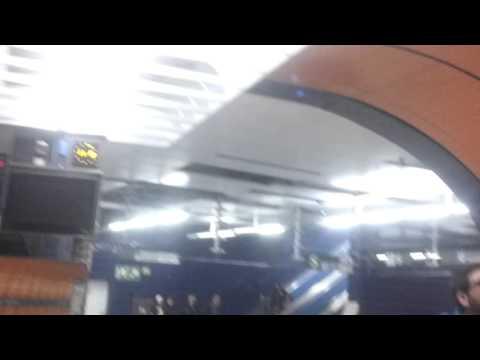 U Bahn rail station in Munich