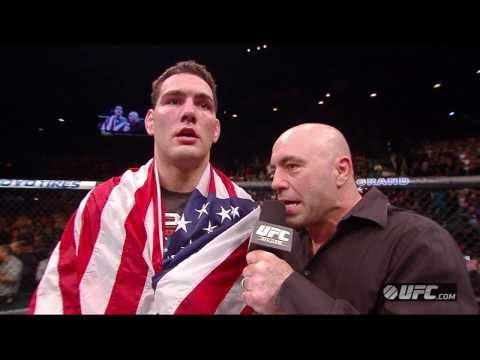 UFC 168: Chris Weidman Octagon Interview