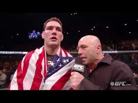 UFC 168: Chris Weidman Octagon Interview
