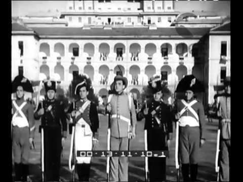 Cerimonia d'inaugurazione del Nucleo Fascista Universitario Allievi Ufficiali della Regia Guardia