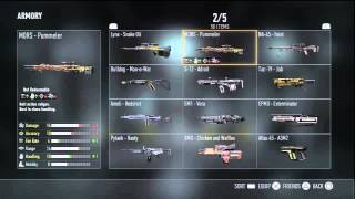 Adv. Warfare: FOUR FREE Sniper Rifles! | ALL Marksman Variant Weapons! (Sniper Rifles)
