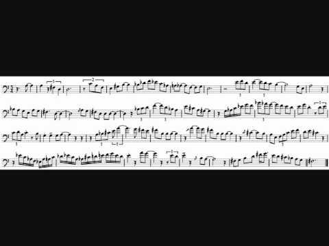 David Gibson 'Maya' Trombone Solo Transcription