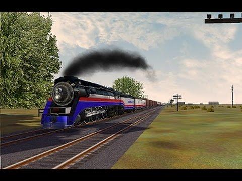 MSTS-American Freedom Train on Cajon Pass