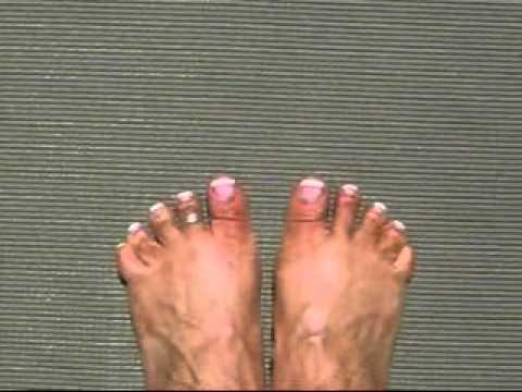 OMG, why do I have to do yoga barefoot? (Tadasana)