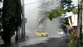 """""""Hujan Lokal"""" Di Malang, Warga Geger"""