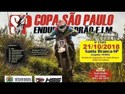 8° ETAPA COPA SAO PAULO ENDURO FIM 2018- SANTA BRANCA-ALCÂNTARA RACING