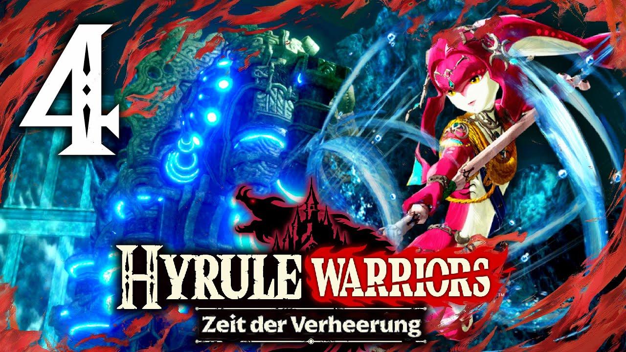 Hyrule Warriors Zeit Der Verheerung 4 Prinz Sidon In Gefahr German Deutsch Youtube