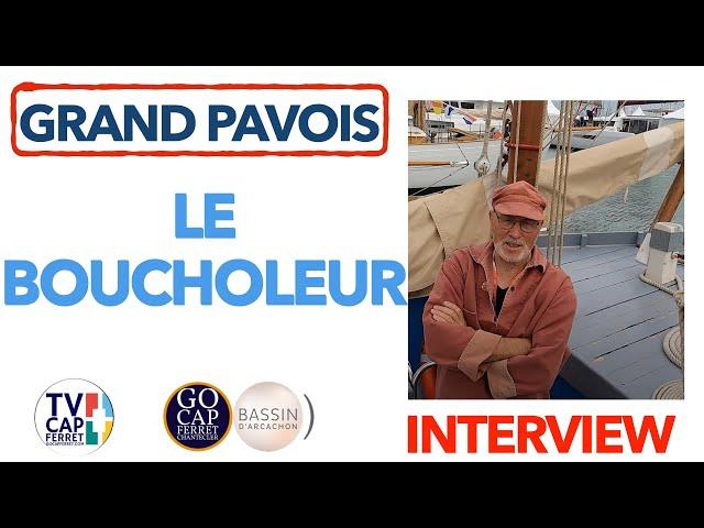 Grand Pavois La Rochelle 2021 #12  Interview Yves  présente le BOUCHOLEUR pour la pêche aux Moules