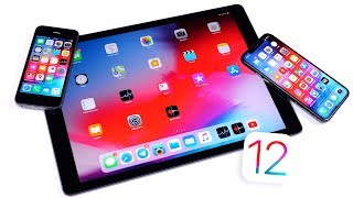 Смотрим iOS 12 Beta 1 на iPhone 5S, iPad Pro и iPhone X
