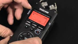 Tascam DR-40 Tutorial