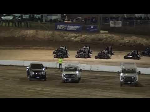 Start P3 Finish P1. - dirt track racing video image