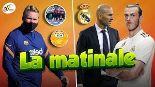 Les adieux de Zidane à Gareth Bale...Koeman commet sa première grosse erreur   Matinale