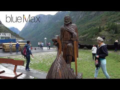 Gudvangen Fjordtell Sognefjord, Norway, Vol 1 Travel Guide 4K Bluemaxbg.com