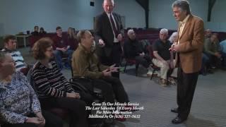 Man In Wheelchair Walking Healing Miracle - Mel Bond