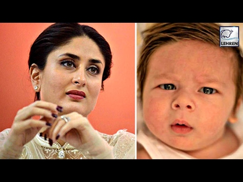 Kareena Kapoor REACTS On Taimur Ali Khan's Picture | LehrenTV