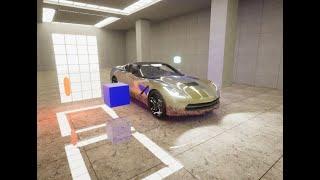 Unity - Universal SRP - Car Paint Shader
