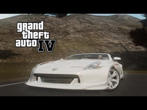 GTA IV Mods: Most Wanted #58 (German) (HD) - Nissan 370Z Nismo S-Tune
