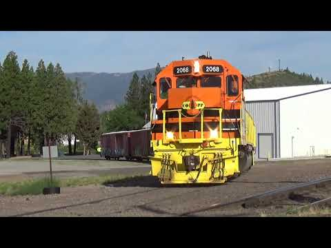 Railfanning The CORP & the UP's Black Butte Subdivision: Trains at Dunsmuir with Crew Changes