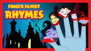 FINGER FAMILY RHYMES  for Children | HALLOWEEN HORROR NIGHT SONGS for Children 2015
