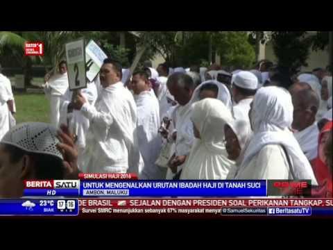 Ratusan Calon Jemaah Haji Ambon Ikuti Manasik Haji