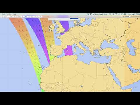 Viewing ASCAT GRIB Files in Panoply - YouTube