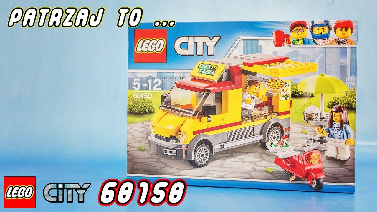 Lego City 60150 Foodtruck Z Pizzą Pizza Van Recenzja