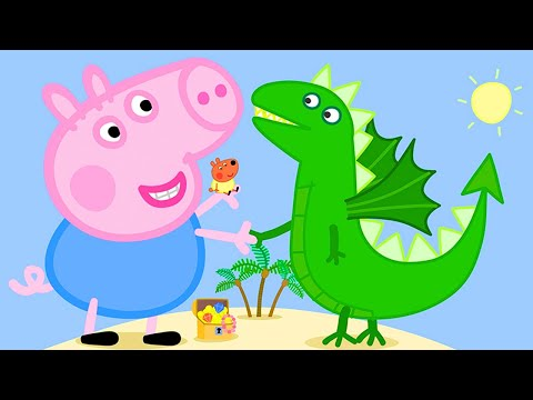 Peppa Pig Official Channel | Giant George in Peppa Pig's Bed Time Story