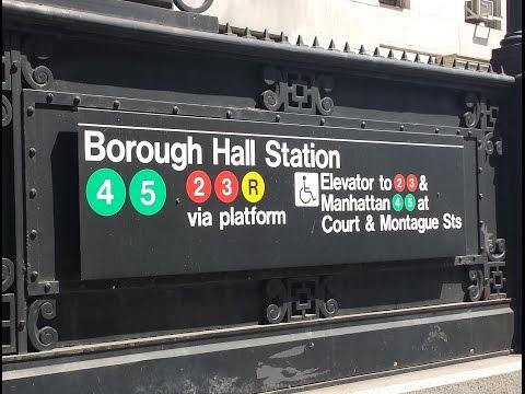 MTA New York City Subway: A Tour Of The Court Street-Borough Hall Station