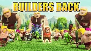 THE BUILDER IS BACK!!!!!!!!!!!!!
