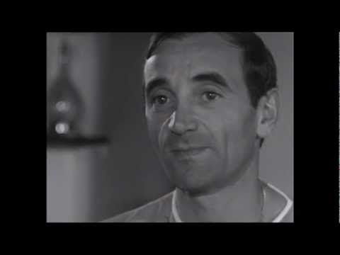 Charles Aznavour - Interview (1963)